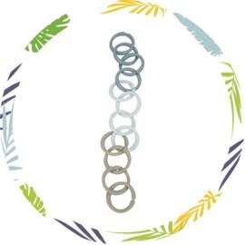 Little loops - speelgoed ringen -blauw