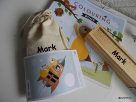Giftpack | Kleurboek, Kleurpotloden, puzzeltje