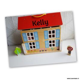 Tender Leaf Toys Houten draagbaar poppenhuis