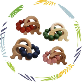 Ombre Collection - Basic Rattle olifant