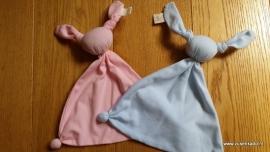 Sussekind tricot Meesleepbeest blauw en roze