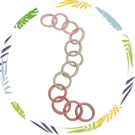 Little loops - speelgoed ringen -roze