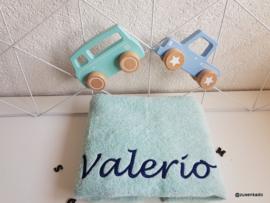 Handdoek groot met naam