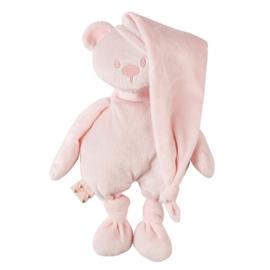 nattou lapidou knuffelbeer lichtroze met naam
