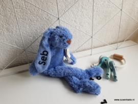 Happy Horse  Konijn Richie deep blue  klein