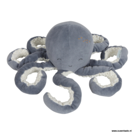 Little Dutch knuffel octopus blauw