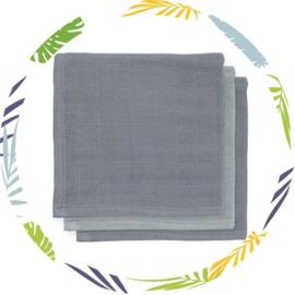 Jollein  Monddoekjes hydrofiel Bamboe (3 pack)