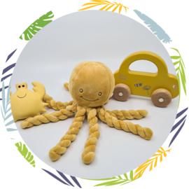 nattou octopus okergeel
