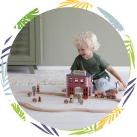 Little Dutch brandweer Kazerne uitbreiding treinbaan