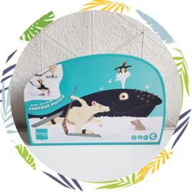 Contour Puzzel  walvis