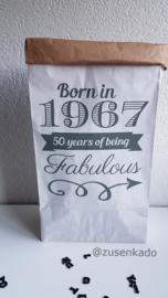 Paperbag jaartal