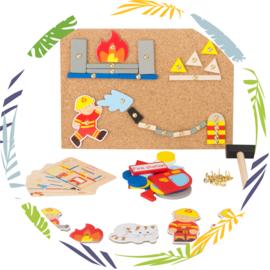 Hamertje tik  - Brandweer - Smallfoot