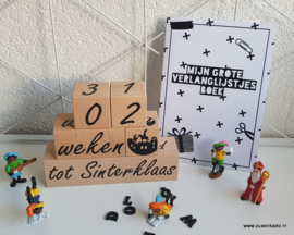 Aftel toren hout Sinterklaas