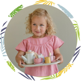 Little Dutch theeservies pastel met naam