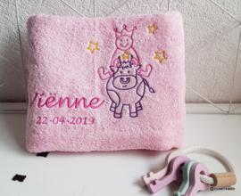 Handdoek  groot met naam: Sterrenbeeld