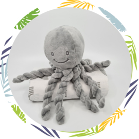nattou octopus grijs