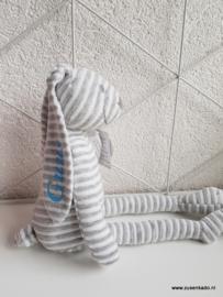 Happy Horse Rabbit Reece  grijs  met naam