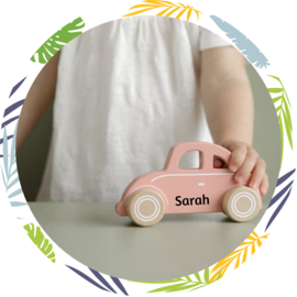 Little Dutch Speelgoed auto roze