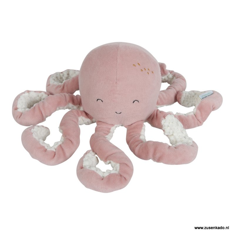 Little Dutch knuffel octopus roze