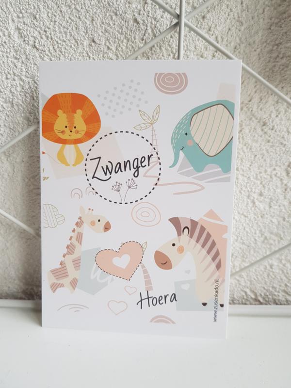 Kaart Zwanger