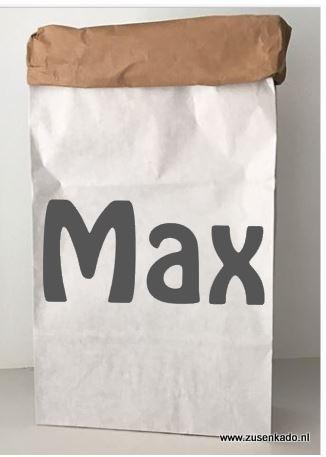 Paperbag met naam jongen