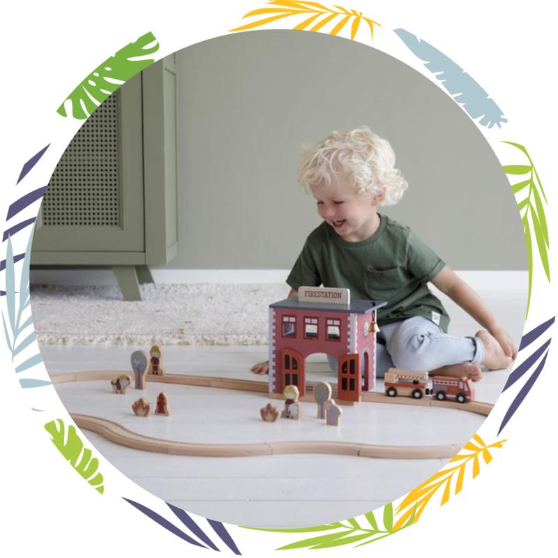 Little Dutch brandweer Kazerne