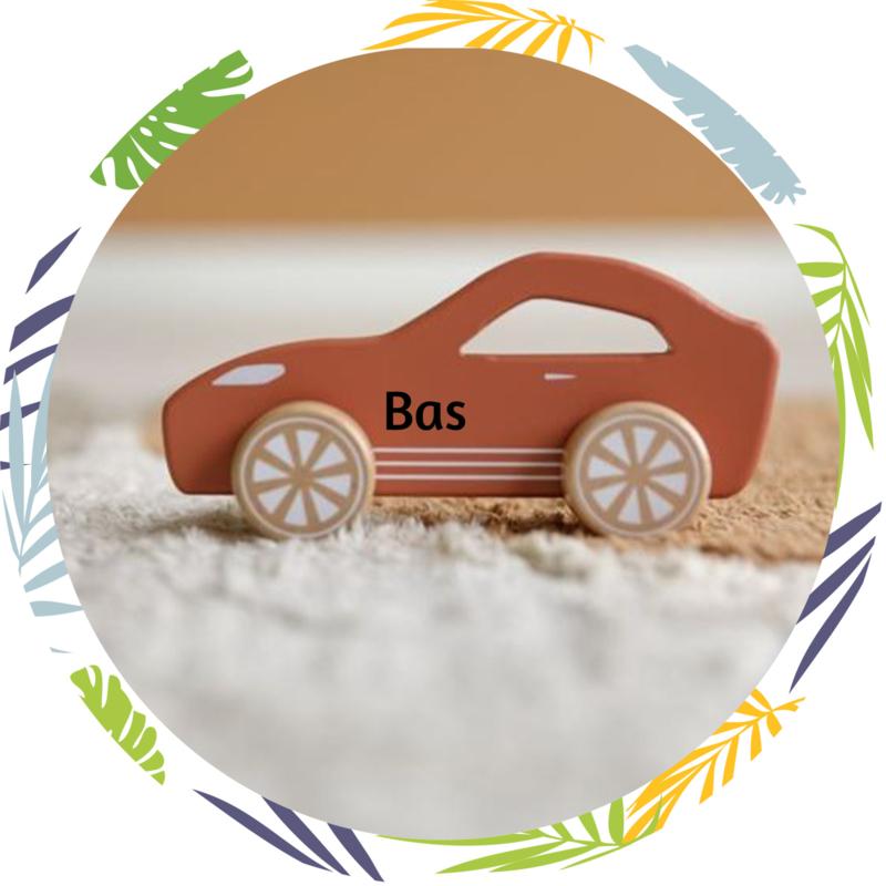 Little dutch Speelgoed race auto roest