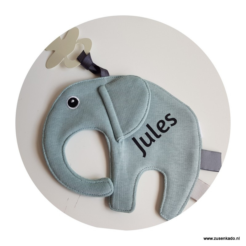 Tutpop  olifant ollie  stone green