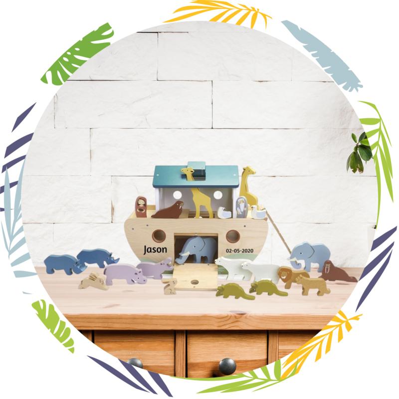 Tender Leaf Toys Houten  Ark van Noah
