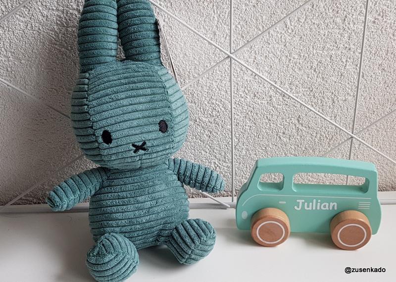Little Dutch Speelgoed auto Bus mintgroen