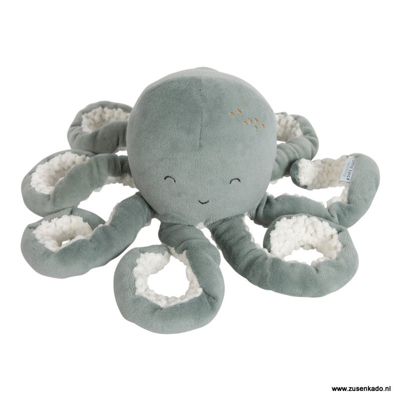 Little Dutch knuffel octopus mintgroen