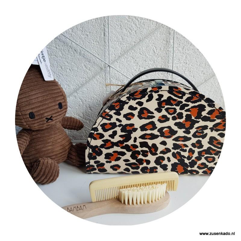 Luipaard koffertje