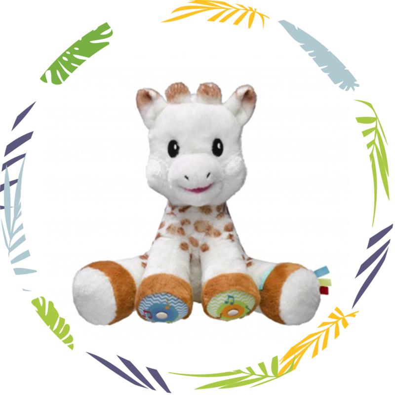 Sophie de giraf muziekknuffel