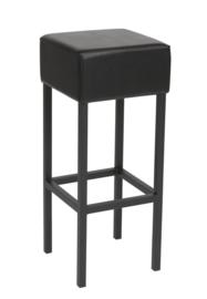 Barstoel  design barkruk Retro Stijn Zwart