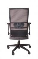 Ergonomische Bureaustoel Aerono NPR 1813  zwart (met netbespanning)