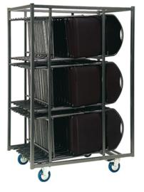 Transportkar tbv klapstoel / vouwstoel DE LUXE 30