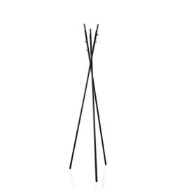 Kapstok Trendline 1 zwart (staand)