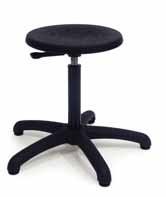 Werkstoel Lage kruk