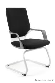 Directie bezoekersstoel Polo M wit ( leverbaar in 17 kleuren )