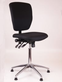 Werkstoel / Kassastoel model 279 Oasis, Alu