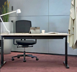Zit sta bureau Pro-fit, Electrisch frame, Nice Price Office