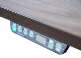 Directiebureau Mito Elektrisch verstelbaar met zijkast 219x208x76/130cm
