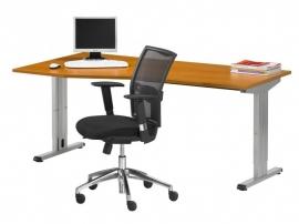 Bureau werkplek Toro Alfa 180x100/80 cm hoogte instelbaar 62-86cm (links of rechts)
