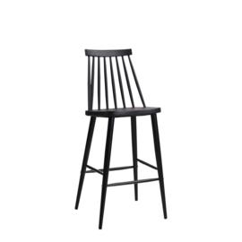 Barstoel Olize zwart of wit 75cm zithoogte