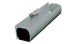 Horizontale Kabelgoot Turn, lengte 490mm Zilver