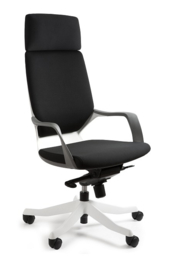 Directie bureaustoel Polo White( leverbaar in 17 kleuren )