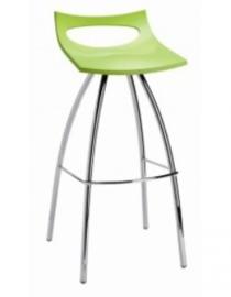 Barstoel barkruk design Diablito  (5 kleuren) zithoogte 80cm