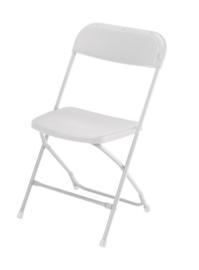 Klapstoel vouwstoel EUROPA SAMSONITE wit