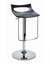 Barstoel of designkruk Diavoletto U (3 kleuren) hoogte instelbaar