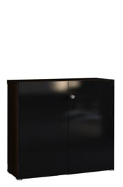 Tweedeurskast laag model Mito afm 91,6x41,8x87,9cm